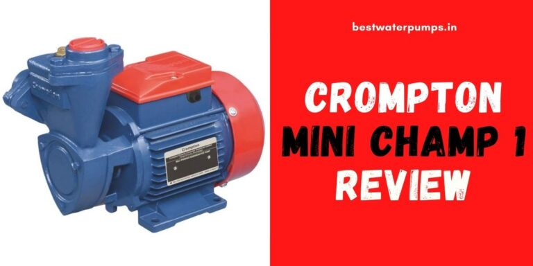 Crompton mini Champ 1 Review (Price, Specifications, HP)
