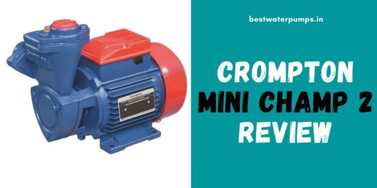 Crompton mini Champ 2 Review (Price, Specifications, HP)