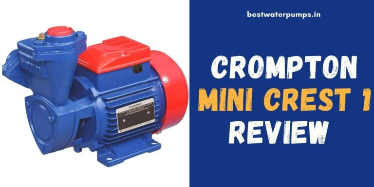 Crompton Mini Crest 1 Review (Price, Specifications, HP)