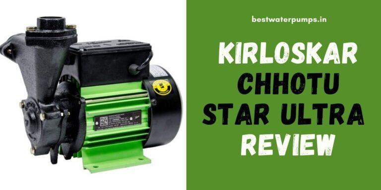 Kirloskar Chhotu Star Ultra Review (Price, Specifications, HP)