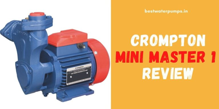 Crompton Mini Master 1 Review (Price, Specifications, HP) – 2021